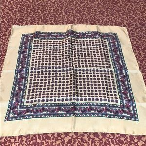 Other - Silk Paisley Pocket Square